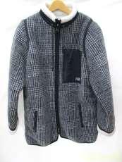 グレンチェックフリースJKT|DOUBLE STANDARD CLOTHING