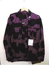 ホルスタインプリントシャツ 20-21AW MAISON MIHARA YASUHIRO