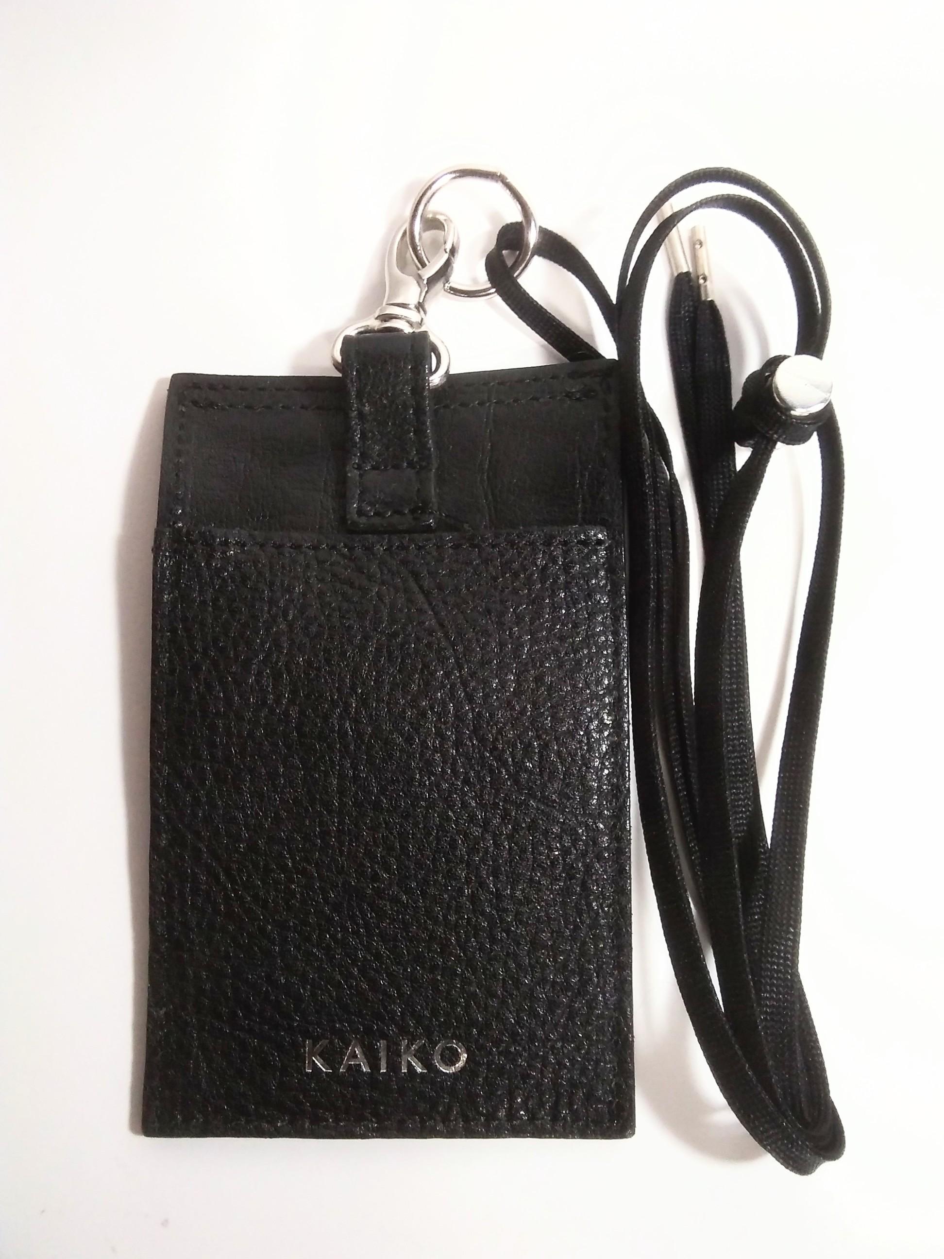 【KAIKO】ネックバッグ KAIKO