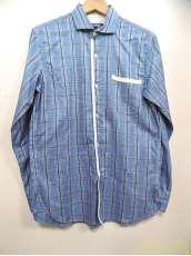 パイピングチェックシャツ|COMME DES GARCONS