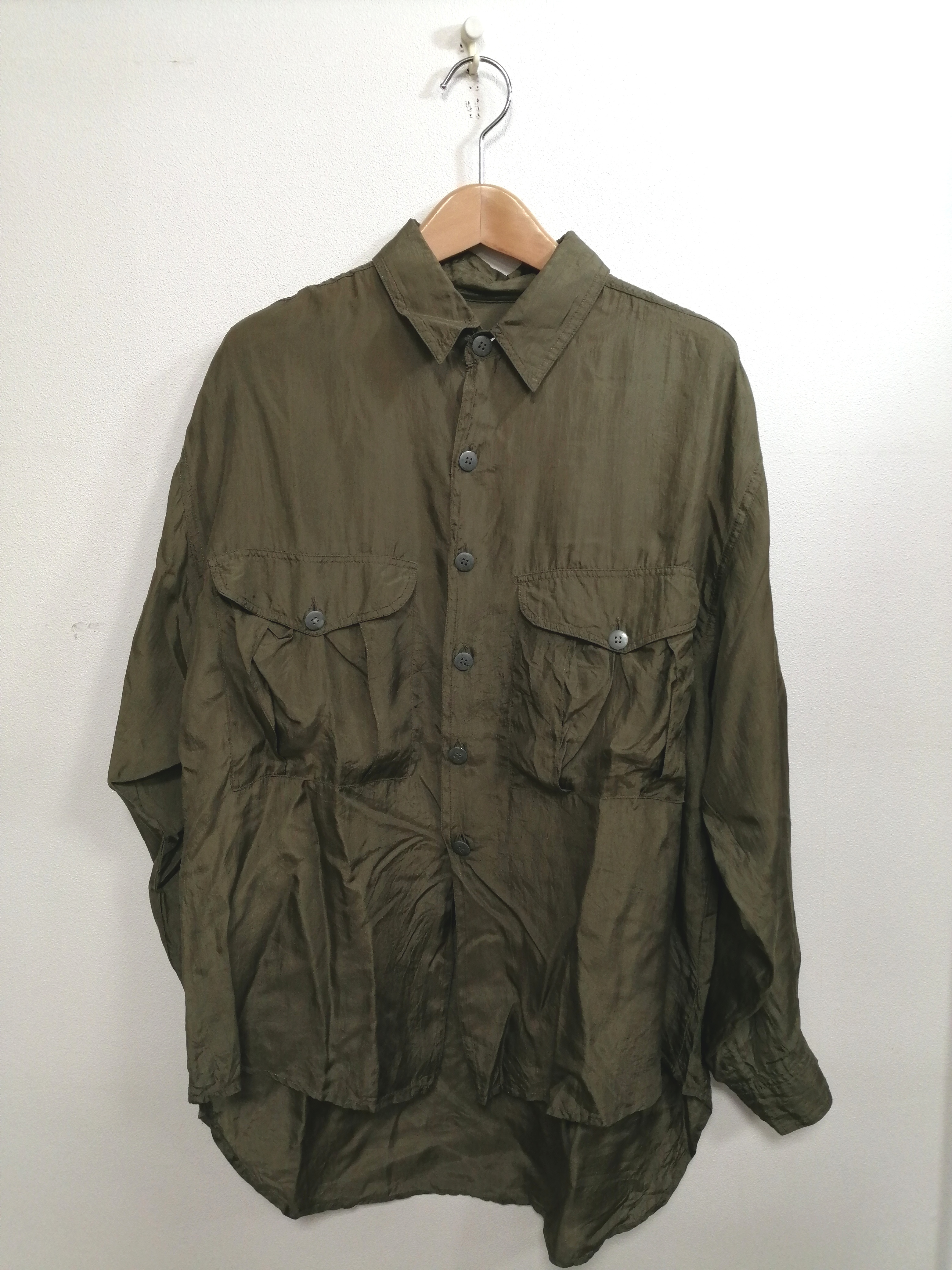 【ANDREW SPORT】シルクシャツ ANDREW SPORT
