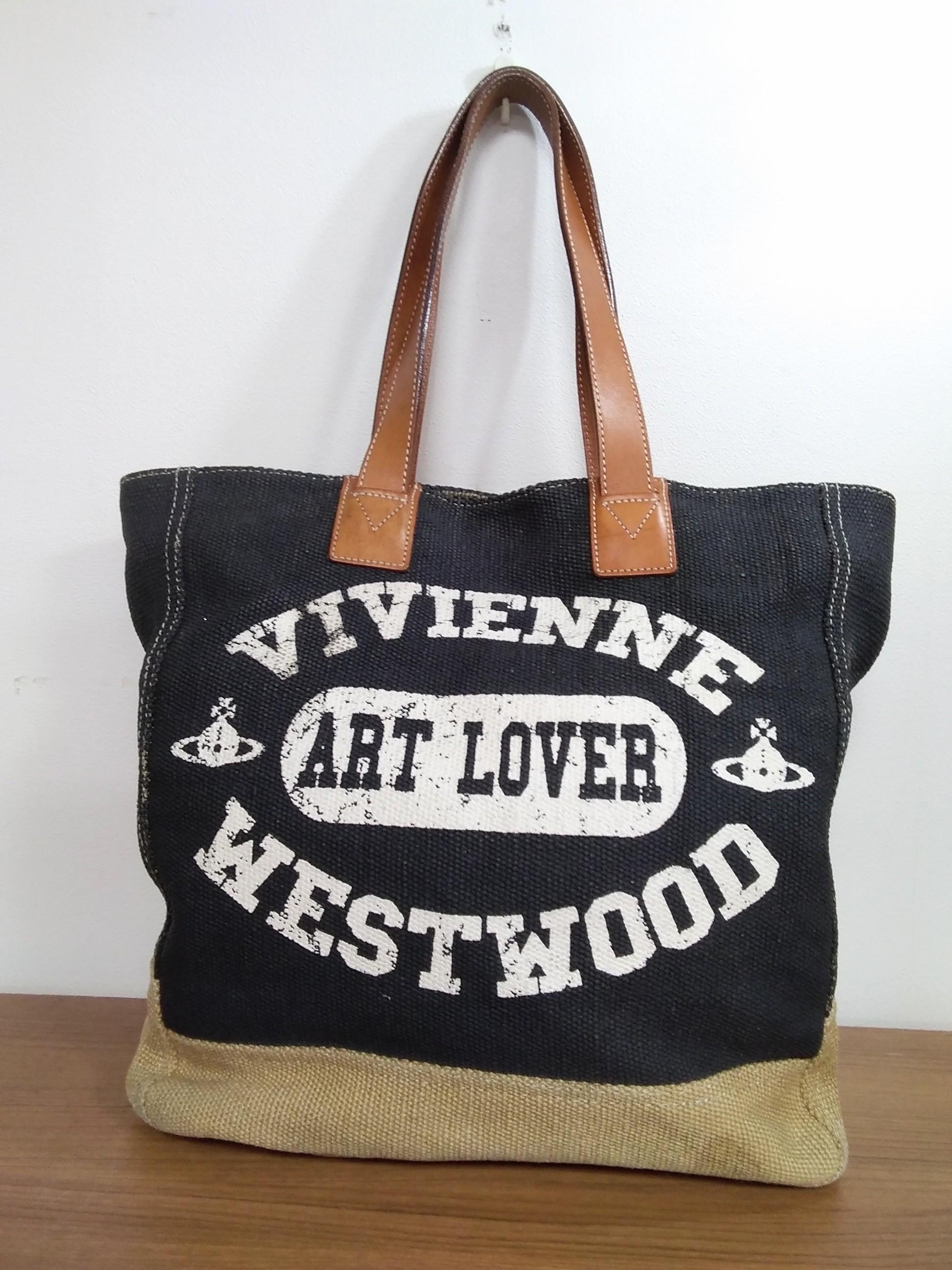 【希少】ART LOVERトートバッグ|VIVIENNE WESTWOOD MAN