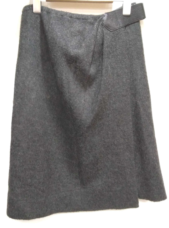 レザーベルトラップスカート ALEXANDER WANG