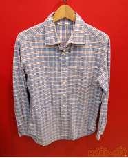チェック柄ロングスリーブシャツ|45RPM