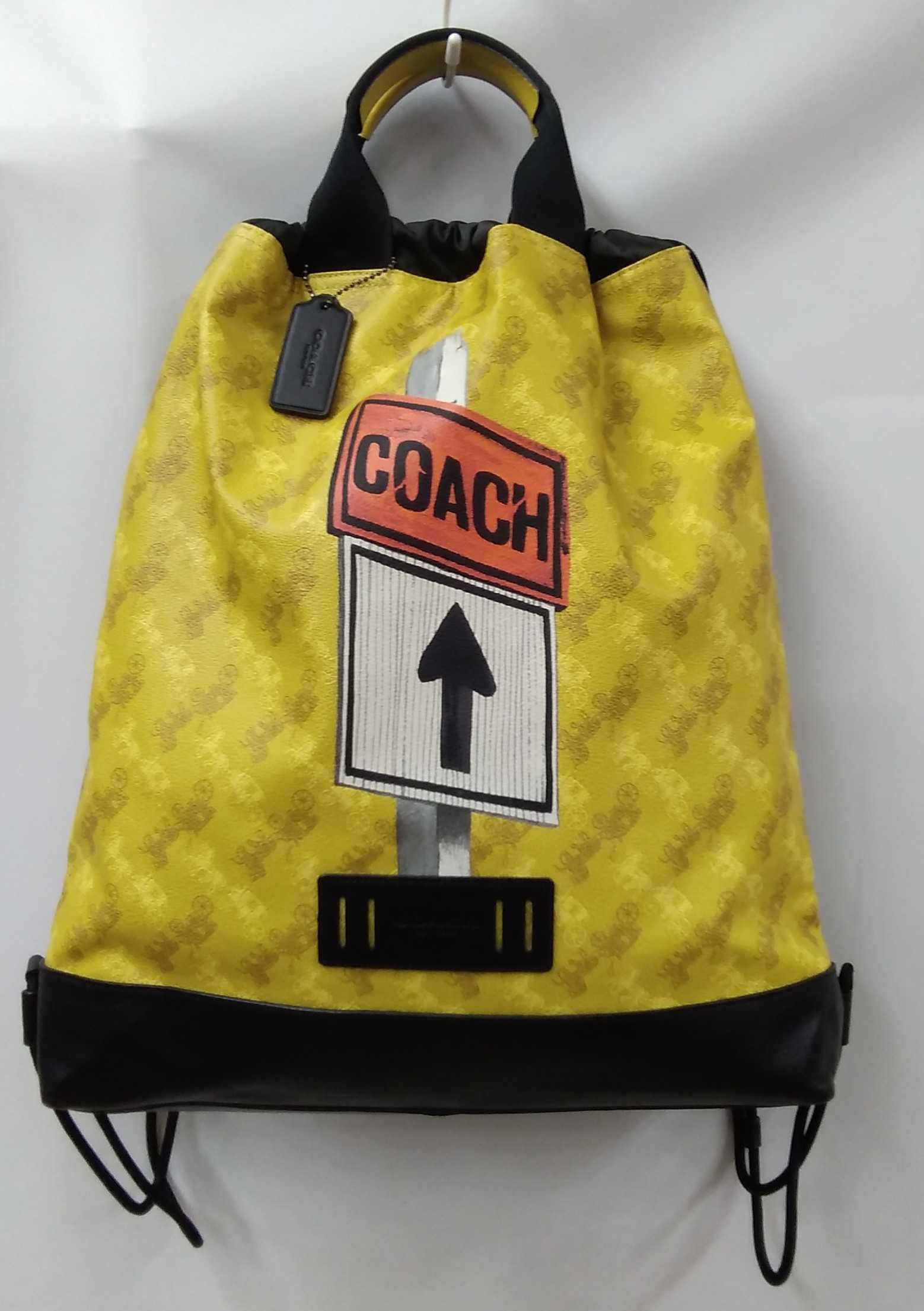 ドローストリング バック|COACH