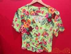 花柄ショートスリーブシャツ|kenzo