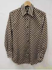 ストライプロングスリーブシャツ|PRADA