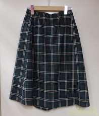 チェック柄スカートパンツ BURBERRYS