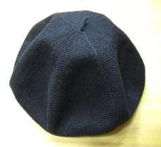 リネン混ベレー帽|CA4LA