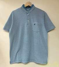 ノーカラー ポロシャツ|KANGOL