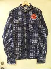 フラワー刺繍デニムシャツ|BILLIONAIRE BOYS CLUB