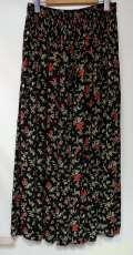 花柄プリーツスカート JONES NEW YORK
