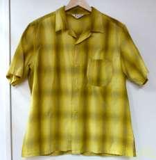 オープンカラーシャドーチェックシャツ|TOWNCRAFT