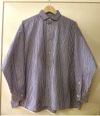 ギンガムチェックプルオーバーシャツ|TICCA