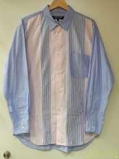 切り替えチェックボタンシャツ|COMME DES GARCONS HOMME DEUX