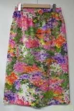 花柄スカート USED