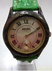 クォーツ・アナログ腕時計|kenzo