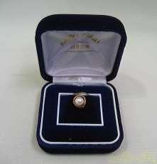 装飾付きK18タイピン|宝石付きカフス