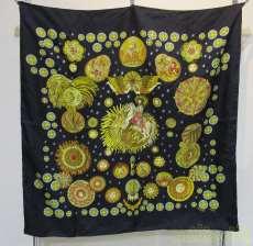 スカーフ LE ROY SOLEIL HERMES