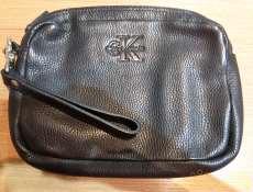 レザーセカンドバッグ