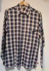 コットンチェックシャツ|BARACUTA