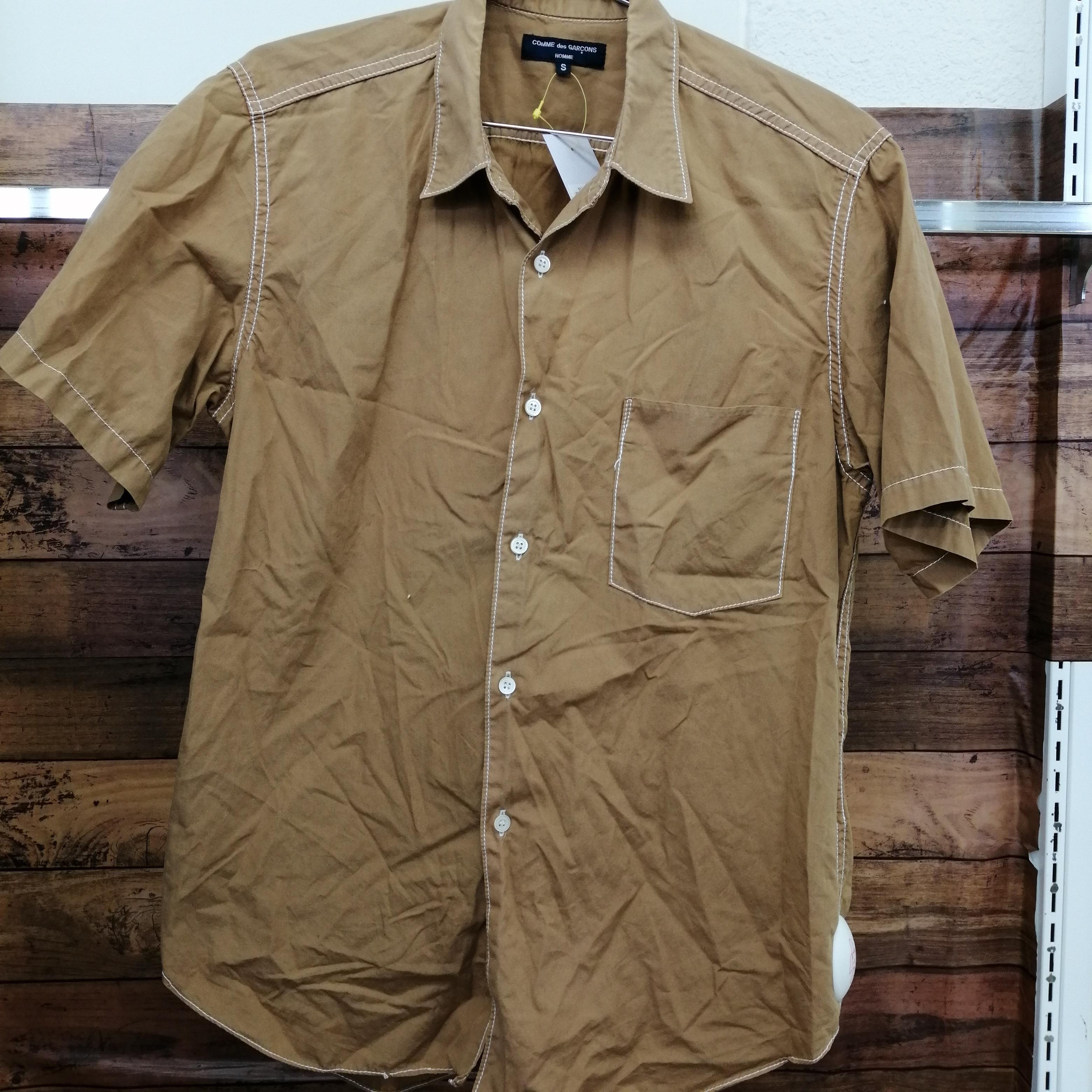 胸ポケットSSボタンシャツ|COMME DES GARCONS