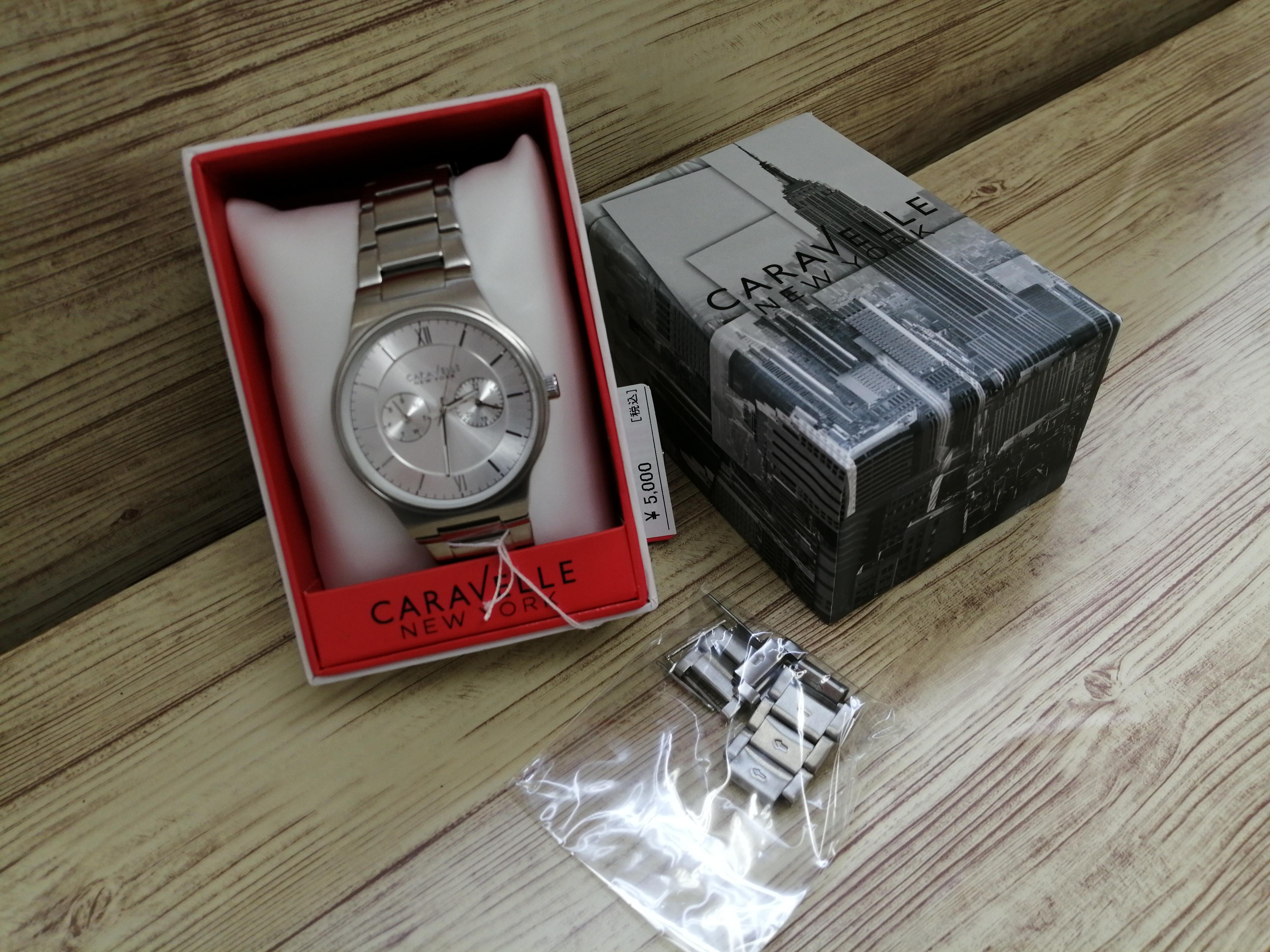 クオーツアナログ腕時計|CARAVELLE