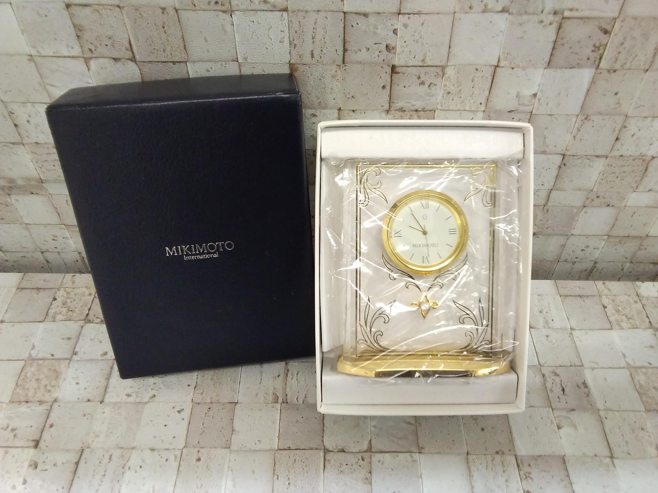 インテリア時計|MIKIMOTO
