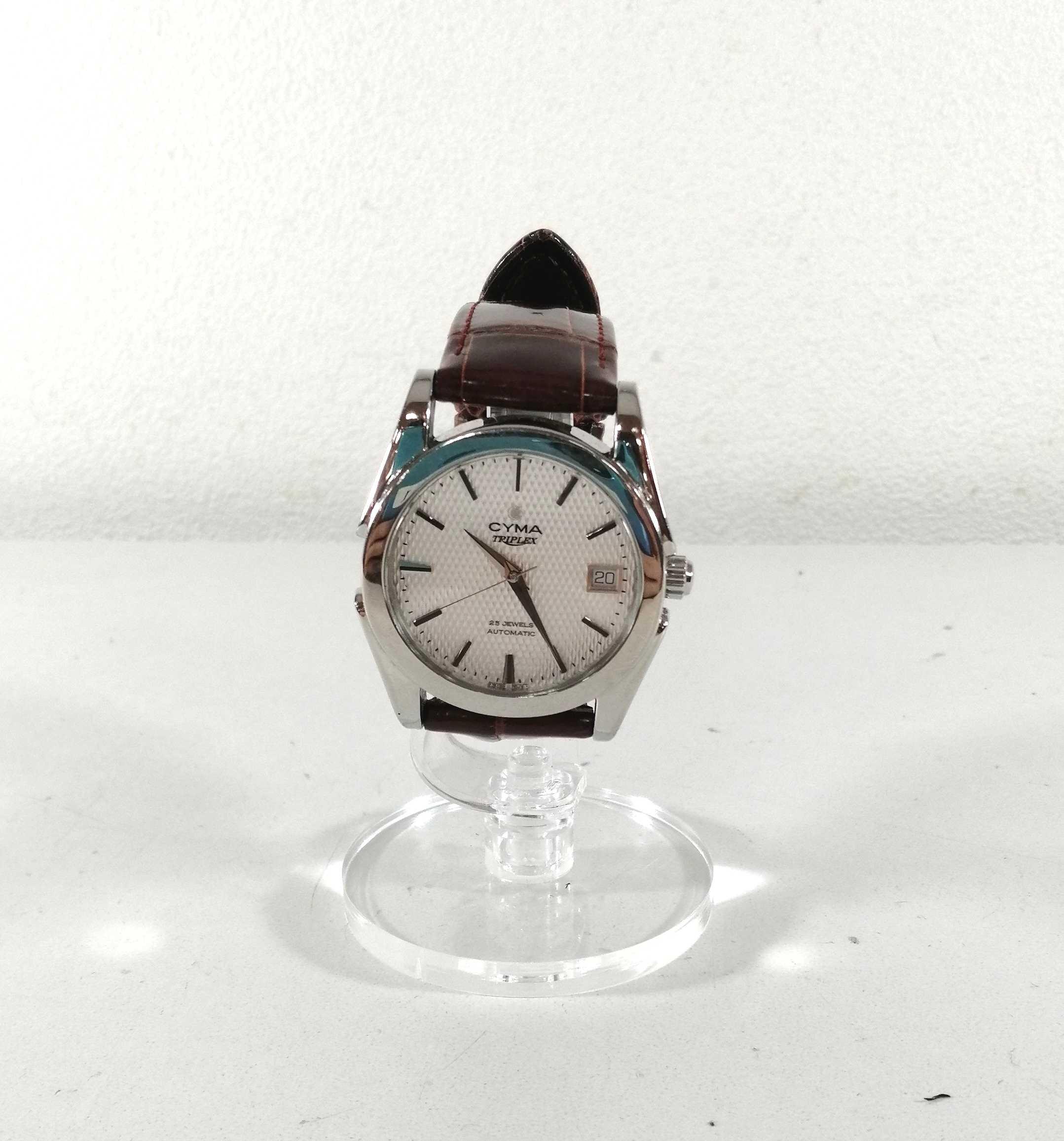 ラウンドオートマチック腕時計 シーマ|CYMA