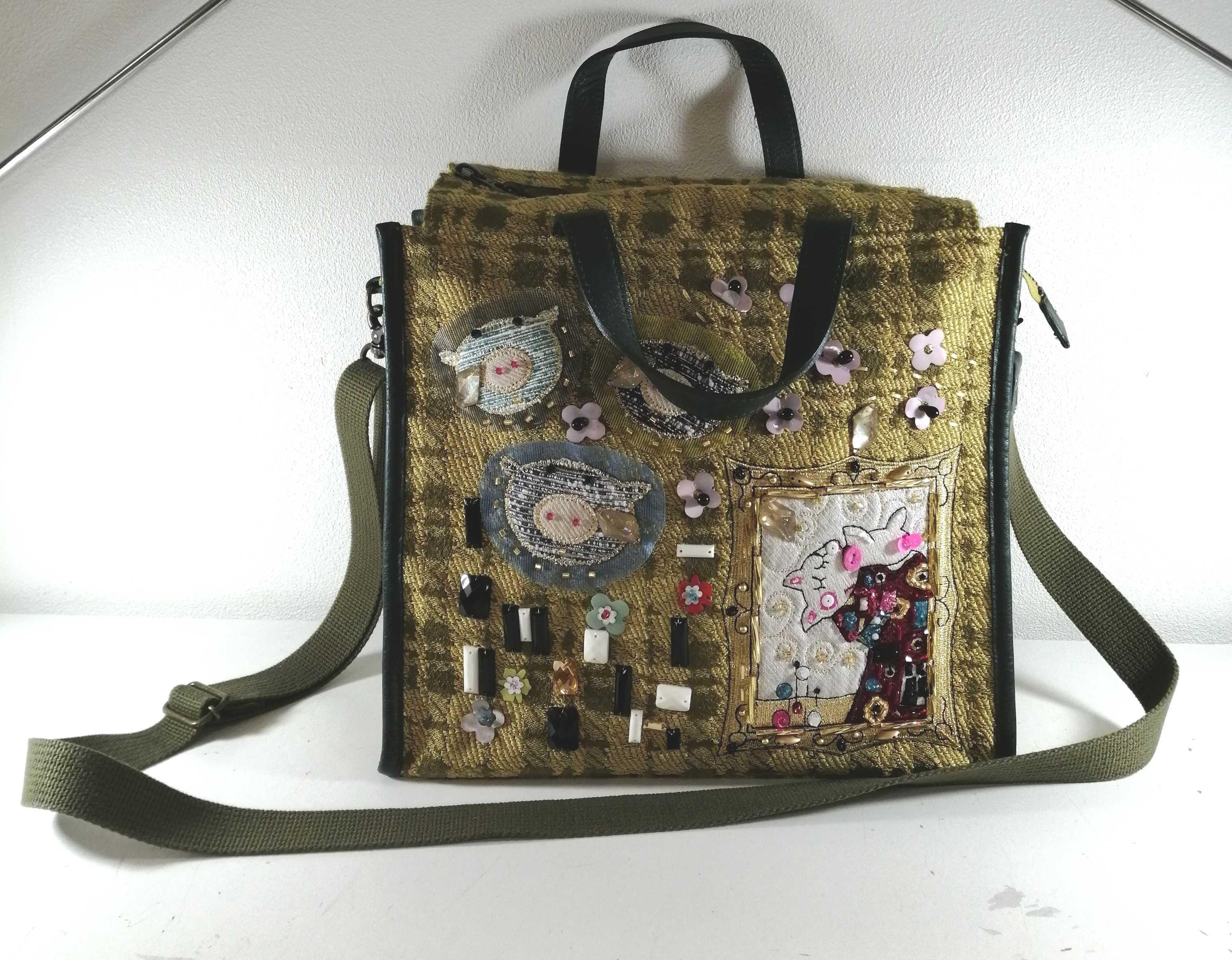 装飾付きハンドバッグ アルベロベロ|OLLEBOREBLA