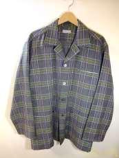 オープンカラーウールシャツジャケット COMME DES GARCONS HOMME