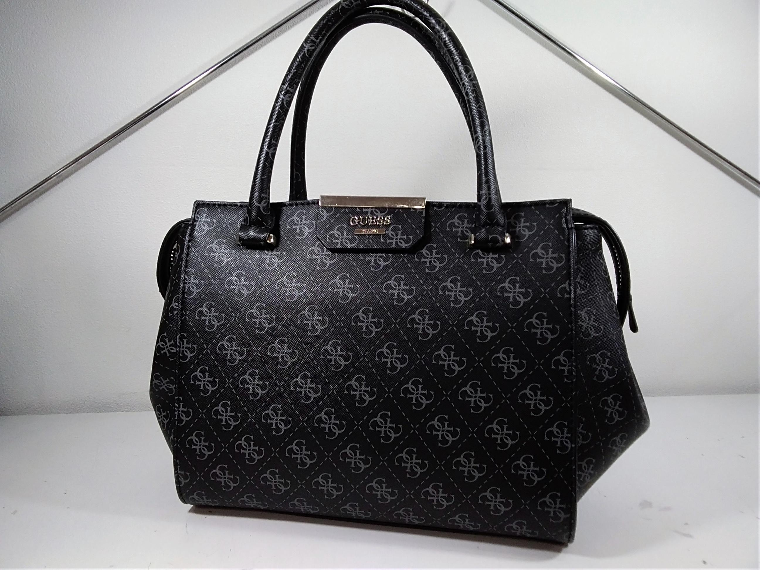 総柄ハンドバッグ|GUESS