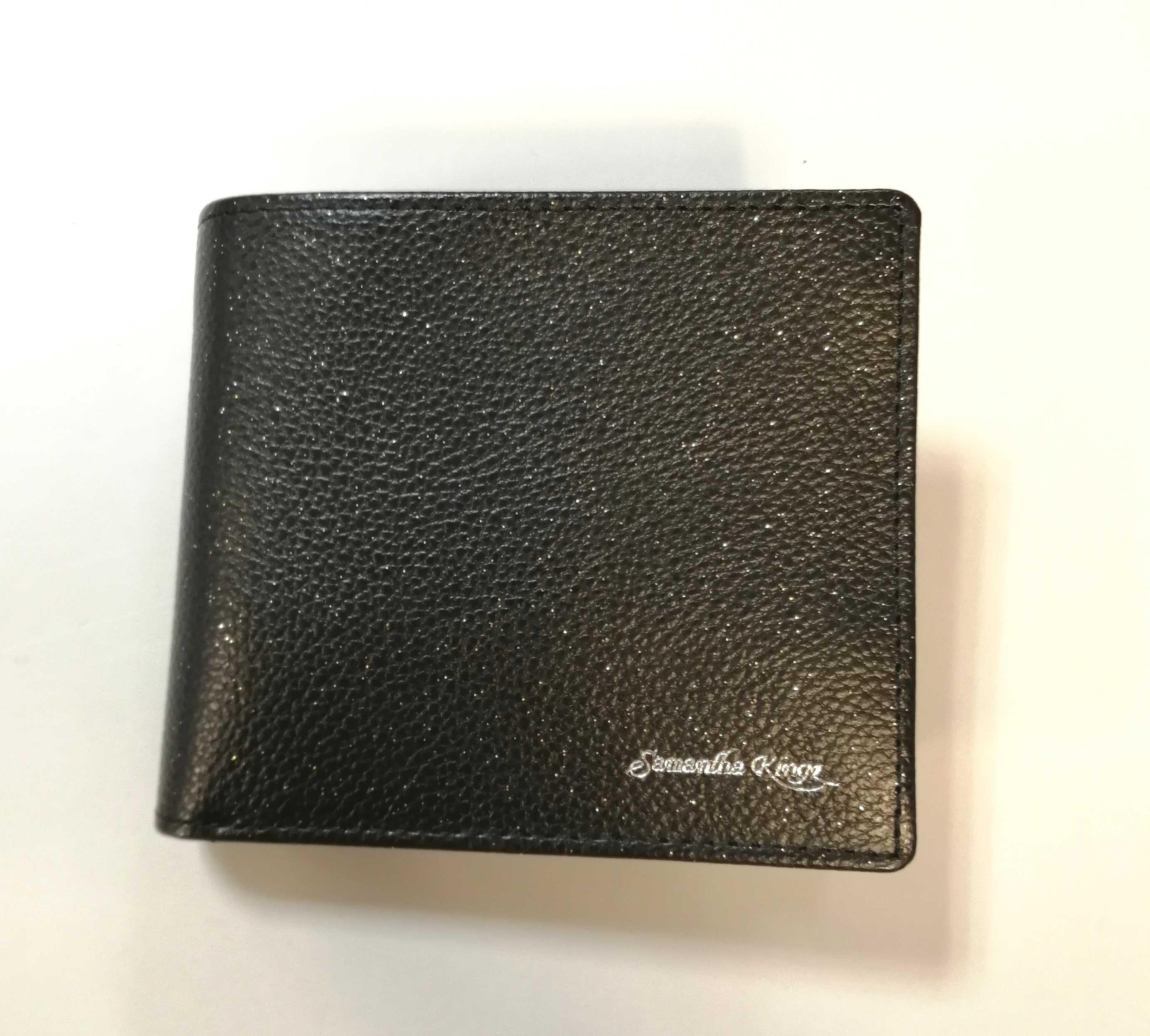 レザー二つ折り財布 サマンサキングズ SAMANTHA KINGZ