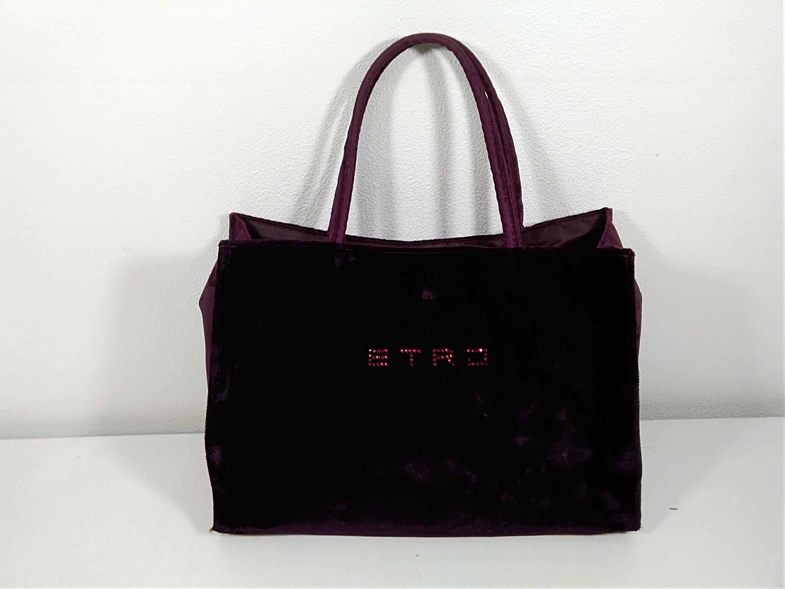 ベロアミニバッグ|ETRO