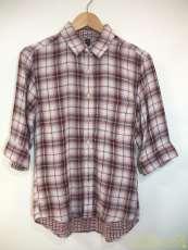 七分丈チェックシャツ|SILAS