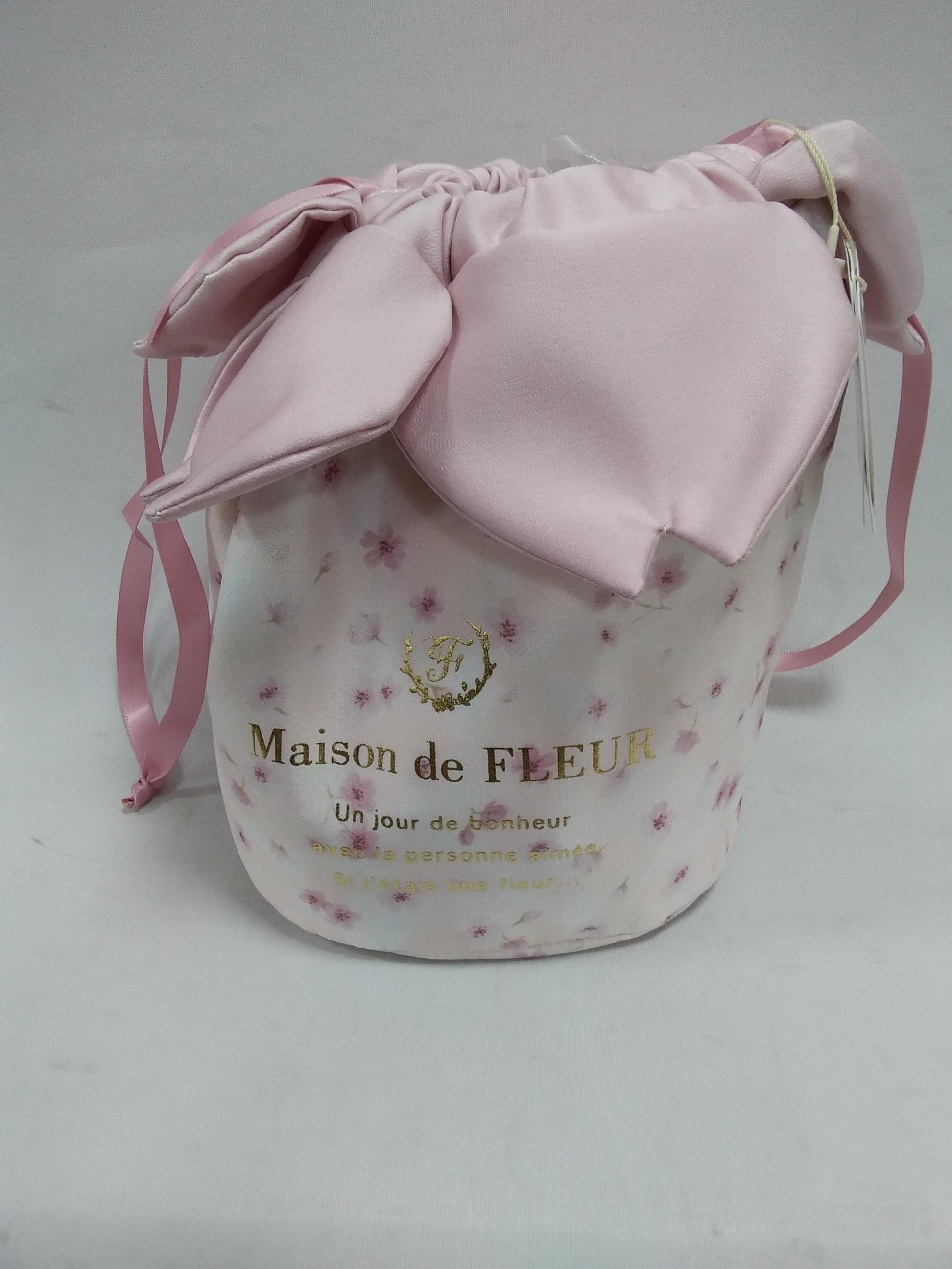 SAKURA巾着 MAISON DE FLUER