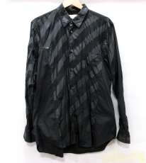 異素材組み合わせロングスリーブシャツ|COMME DES GARCONS SHIRT