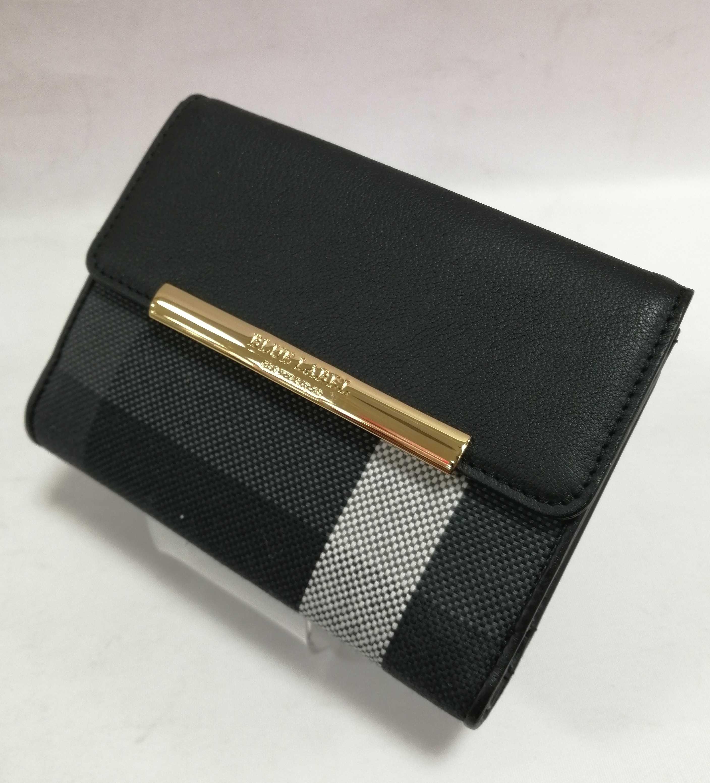 二つ折り財布|BLUE LABEL CRESTBRIDGE