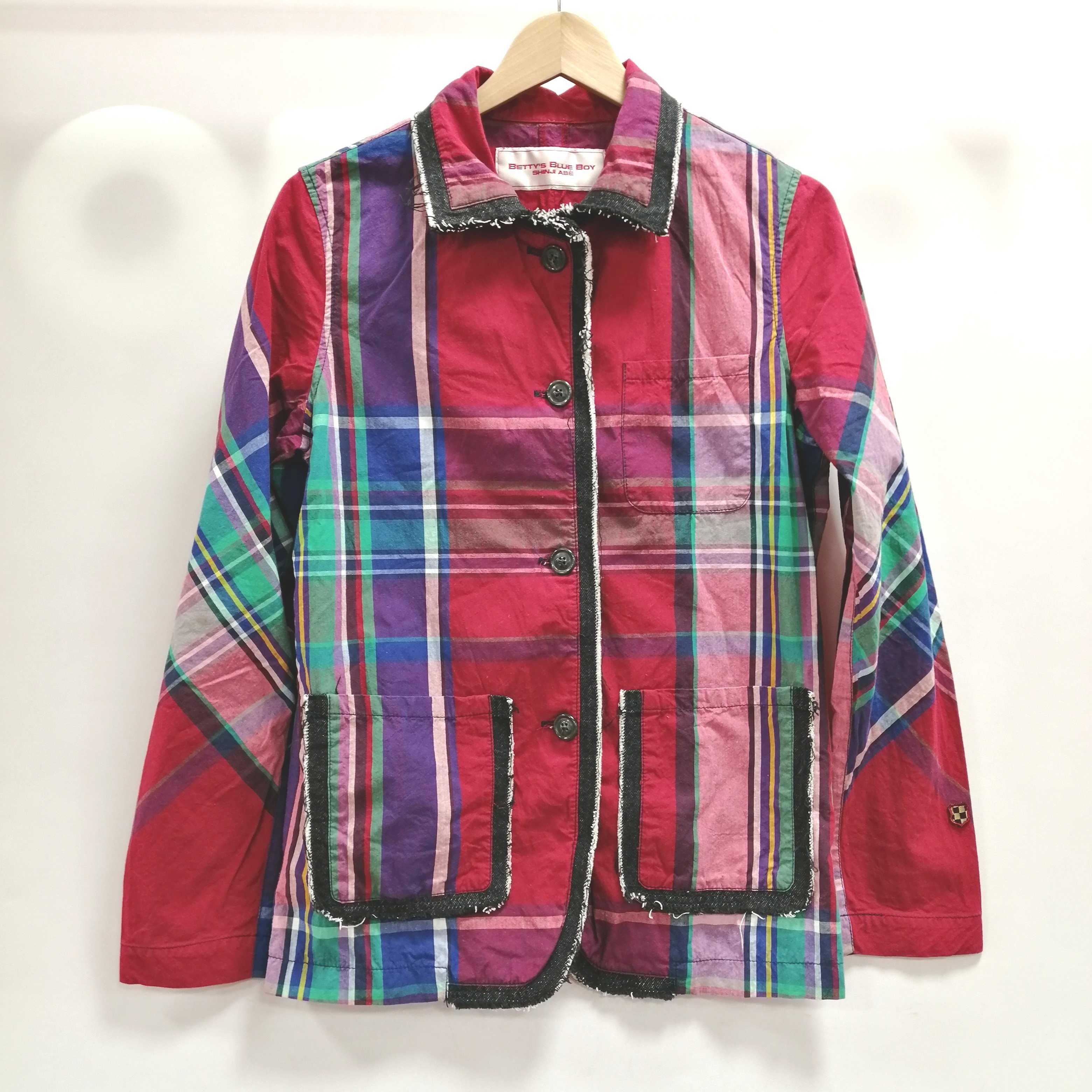 チェックシャツジャケット|BETTYS BLUE