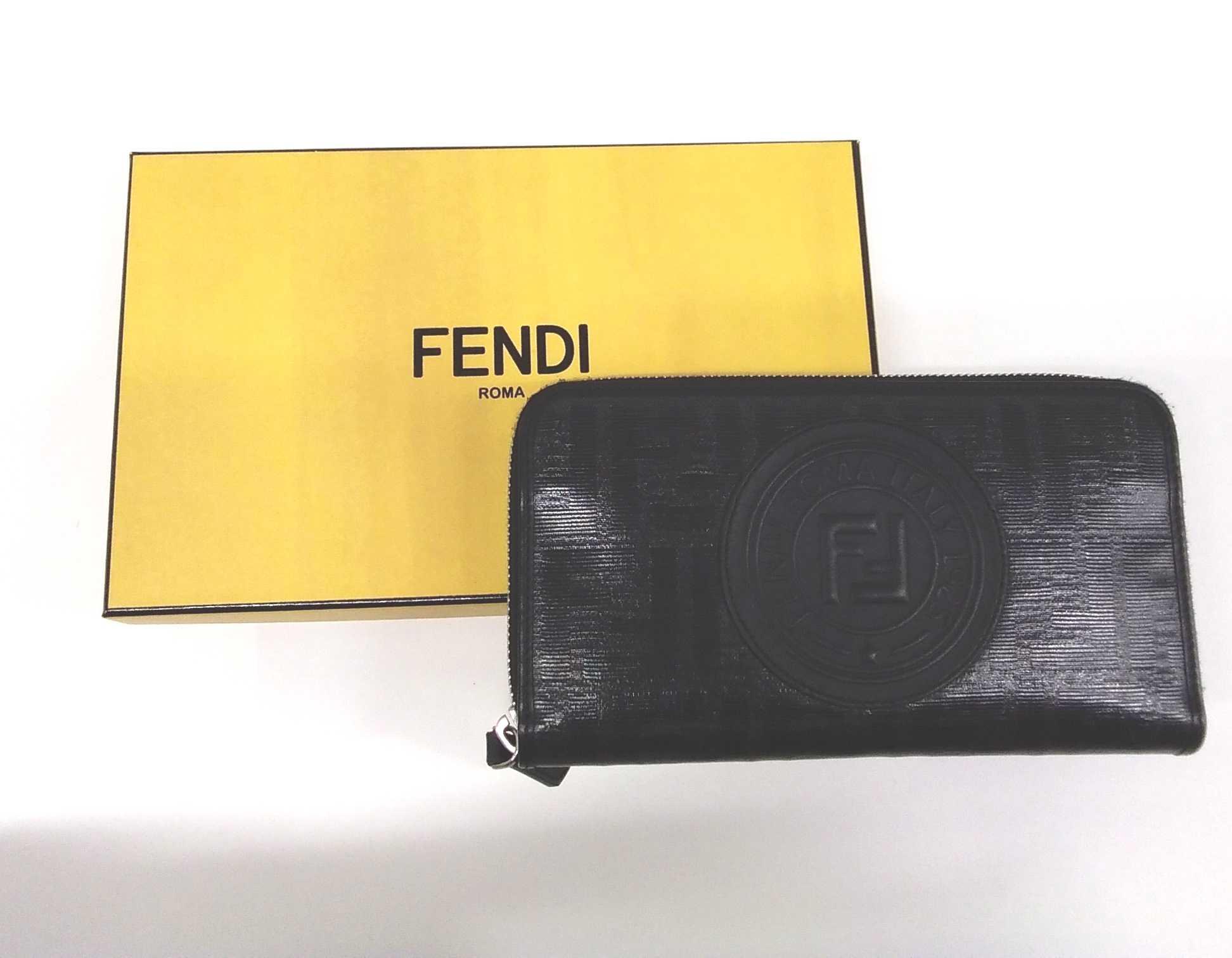 ファスナー財布|FENDI