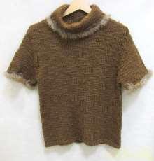 ファー付きニットセーター|INGEBORG