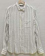 ストライプコットンシャツ|LOUNGE LIZARD