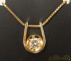 K18ダイヤモンドネックレス|NGL