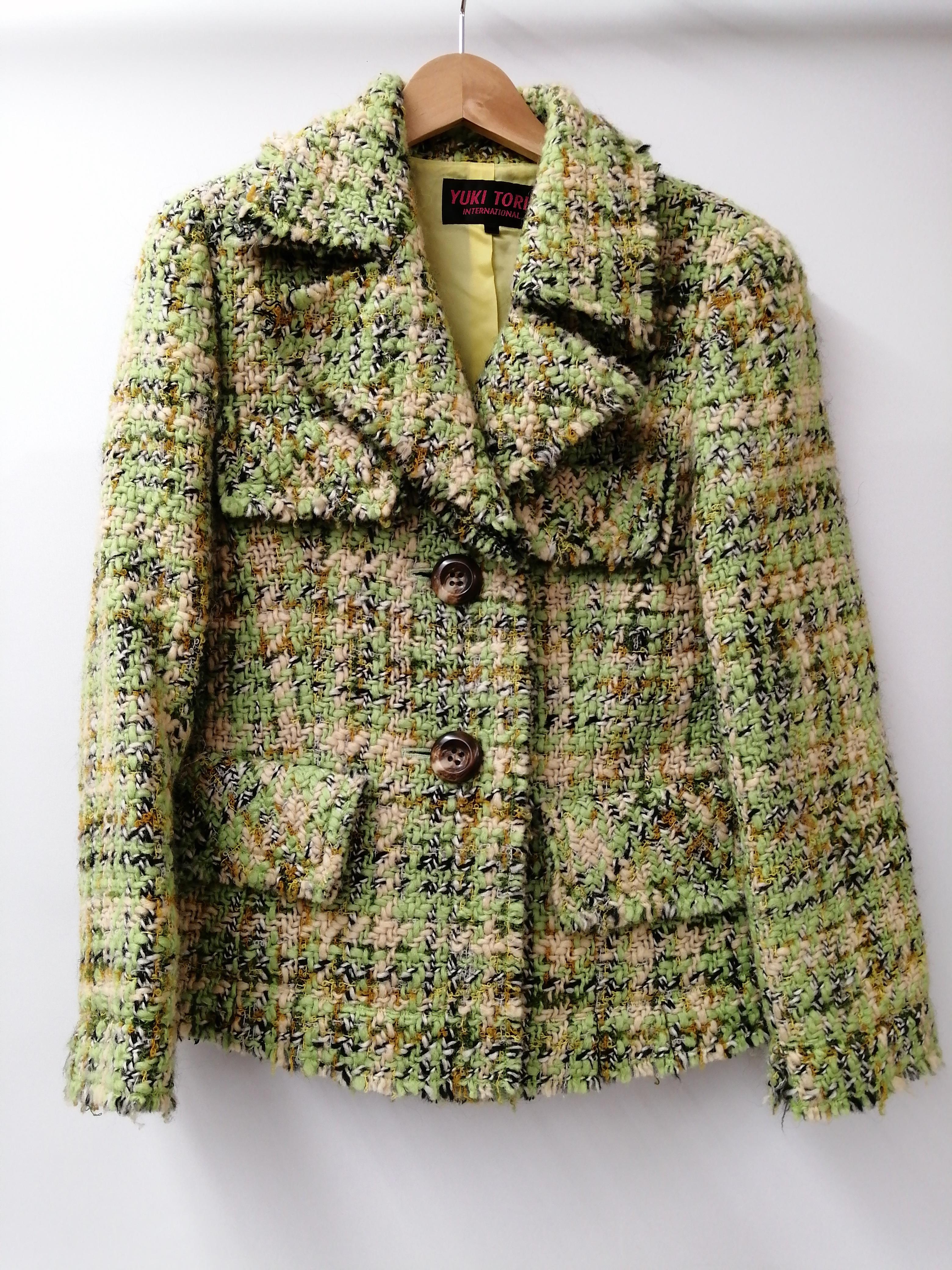 ニットジャケット|YUKI TORII