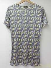 幾何学模様Tシャツ M|FENDI