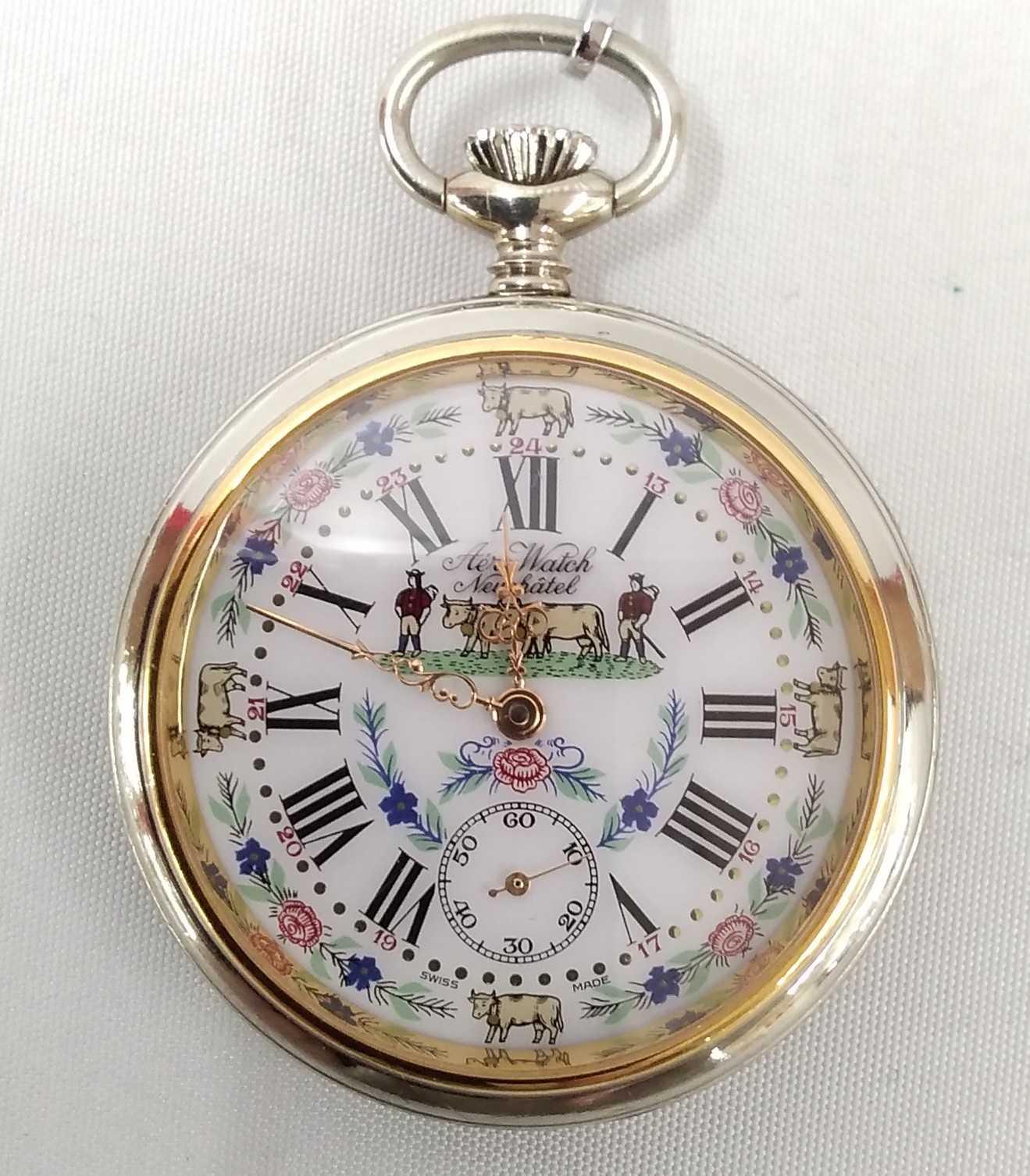 手巻き懐中時計|AERO WATCH