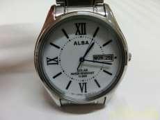 ソーラー腕時計 ALBA