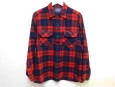 60s ペンドルトン フラップポケット ウールシャツ|PENDLETON