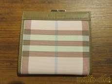 チェック柄 二つ折財布|BURBERRY