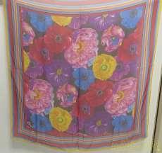 花柄スカーフ kenzo